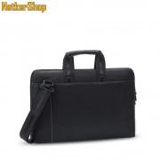 "RivaCase Orly 8930 (PU) 15.6"" slim fekete notebook táska (2 év garancia)"