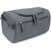 ROYALDEAL Travel Toiletry Bag Organizer Waterproof Toiletry Kit Potable Large Capacity Cosmetic Bags for Packing Make Up Hanging Toiletry Bag Travel Cosmetic Makeup Bag and Dopp Kit (Grey) Travel Toiletry Kit(Grey)