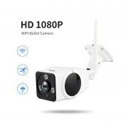 Panoramic Camera V380 2 MP Unghi de vizualizare 360 grade Waterproof Wireless Night Vision Microfon Difuzor Slot Card