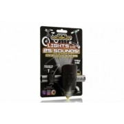 Claxon Mini Hornit cu lumina - Negru si galben