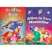 2 Povesti: Scufita rosie si Alice in Tara minunilor/***