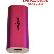 Callmate Power Bank LPG 5200 Mah - Pink