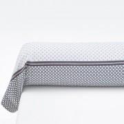 La Redoute Interieurs Fronha de travesseiro estampara em puro algodão, NAYMACinzento/Rosado- 85 x 185 cm