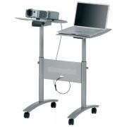 Carrello Per Proiettori Multimediali - Nobo - 549431 Portata 10 kg per ripiano - Confezione 1 - 1900791