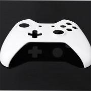 ER Mando Inalámbrico Negro Y Blanco Completa Caso De Shell De Vivienda Para Xbox Una Nueva.