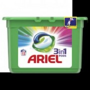 Detergent capsule Ariel 3in1 PODS Color 15 spalari