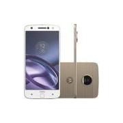 Smartphone Moto Z Power & Camera Edition Dual Chip Android 6.0 Tela 5,5 64GB Câmera 13MP - Branco