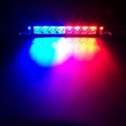LED Stroboszkóp Kék-Piros fényű