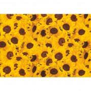 Hartie pt. ambalare, 70 x 200cm/rola, 70gr/mp, model cu floarea soarelui, HERLITZ
