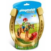 Ingrijitor Si Ponei Cu Floricele Playmobil