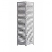 Shilpi Handicrafts Wooden Partition in Antique White Color Stylish Simplicity Look Separator Panel (2)