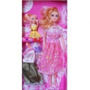 Beautiful Fashion Dolls with dresses