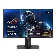 Asus Rog Swift Pg278qr 27 Wqhd (2560 X 1440) Gaming Monitor 1ms Up To 165hz DP Hdmi Usb3.0 G-Sync (16 9)