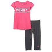Puma Mallas para niña, Fucsia púrpura, M (5) US