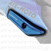 Grab Rail Covers Metallic Blue for Kawasaki Ninja 1000 (11-16)