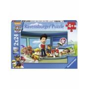 Puzzle Patrula Catelusilor, 2X24 Piese Ravensburger