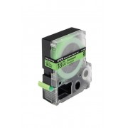 Lettertape Epson LC-5GBF9 zwart op groen tape 18mm tape origineel