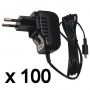 Micro USB Tápegység, töltő, 100 db-os csomag, 5 V, 1,2 A , 1,7 m kábel, TENWEI TAV010501200HU