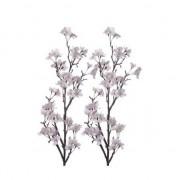 Bellatio flowers & plants 2x Appelbloesem kunstbloem takken 104 cm