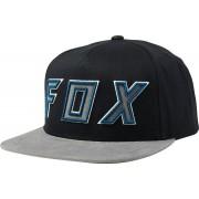 Fox Posessed Snapback Sombrero Negro Gris un tamaño