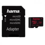 Micro SD Card, 64GB, HAMA microSDXC, 1xAdapter, Class 3 (123982)