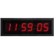 Ceas electronic mare cu calendar, alarma si telecomanda