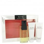 Alfred SUNG by Alfred Sung Gift Set -- 3.4 oz Eau De Toilette Spray + 2.5 oz Body Lotion + 2.5 oz Shower Gel
