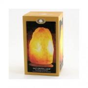 Selamix Saltstenslampa med Träfot elanslutning 230v 4-6kg