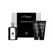 Dupont Be The Exceptional Gift Set - EDT 100 ml + After Shave Balsam 100 ml + Shower Gel 100 ml за мъже