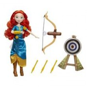 Papusa Hasbro Disney Princess Doll Meridas Adventure Bow