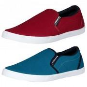Shoetoez mens casual shoes Combo of 2