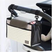 Kinderwagen Organizer - Kinderwagentas - Luiertas voor aan Buggy - Tas voor luiers , fles, doekjes