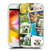 Husa Samsung Galaxy Grand Neo i9060 i9080 i9082 Silicon Gel Tpu Model Puppies Collage
