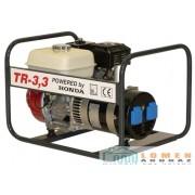 Honda benzinmotoros TR-3,3 áramfejlesztő, 1 fázis 3,3 kVA