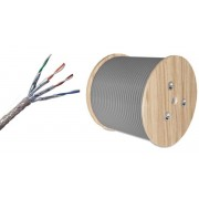 100 Meter Roll CAT7 SSTP Cable - Pure Copper Ethernet Cable