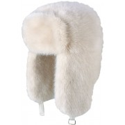 Fur Bomber (white, jasno-kremowy)