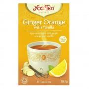 Ceai Bio GHIMBIR, Portocale si Vanilie Yogi Tea