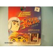 """Johnny Lightning Speed Racer 2000 """"Racer X Stock Car"""" with Bonus Film Strip Token"""