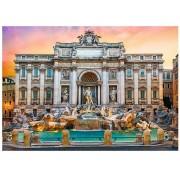 Puzzle Trefl - Fontanna di Trevi, Roma, 500 piese (61531)