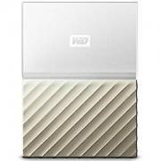 Western Digital WD My Passport Ultra bärbar hårddisk - 2 TB, vit & guld