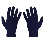 Stonic Men's Women's Cotton Hand Palm Full Finger Summer Gloves for Protection From Sun Burn/Heat/Pollution Pack Of 1