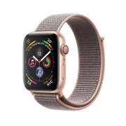 Умные часы Apple Watch Series 4 GPS 44mm Gold Aluminum Case with Pink Sand Sport Loop Band MU6G2RU/A (Золотистый/Розовый песок)