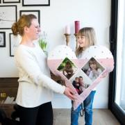 YourSurprise Moederdag volledig bedrukt kussen - 80x80 - Velours