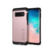 Etui Spigen Tough Armor Samsung Galaxy S10 Rose Gold + Folia Neo Flex