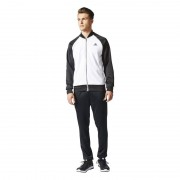 Adidas Cosy Tracksuite White Black Size L