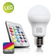 Home sweet home LED lamp RGB E27 4W 25Lm - RGB