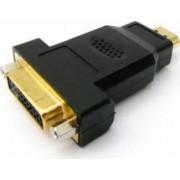 Adaptor OEM HDMI male la DVI 24+5 female ,Negru
