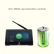 PiPo X10 Pro Tablet PC Style Tablet Mini PC, 4 Go + 64 Go, 10000 mAh batterie, 10,8 pouces Windows 10 Intel Cherry Trail Z8350 Quad Core 1,92 GHz, support TF carte et Bluetooth et WiFi et LAN et HDMI