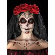 Kit machiaj Halloween Day of the dead trandafiri