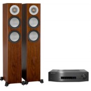 Pachete PROMO STEREO - Monitor Audio - Silver 200 + Cambridge Audio CXA80 Rosenut
